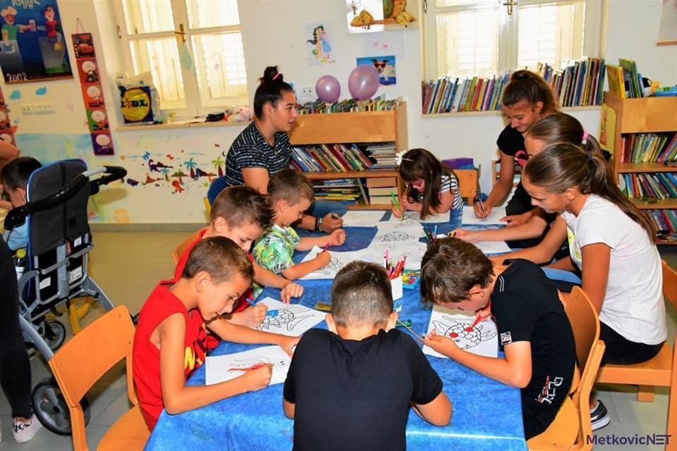 Radionica u Gradskoj knjižnici Metković