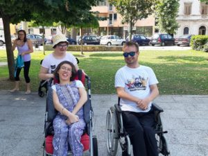U Gradskom parku udruga Leptirići održala sportsku radionicu