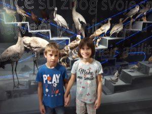 Udruga Leptirići posjetila Prirodoslovni muzej Metković