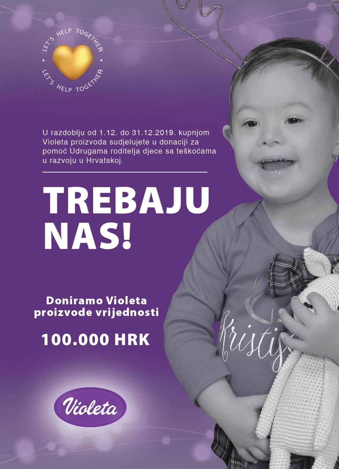 Violeta donira 100.000 kuna