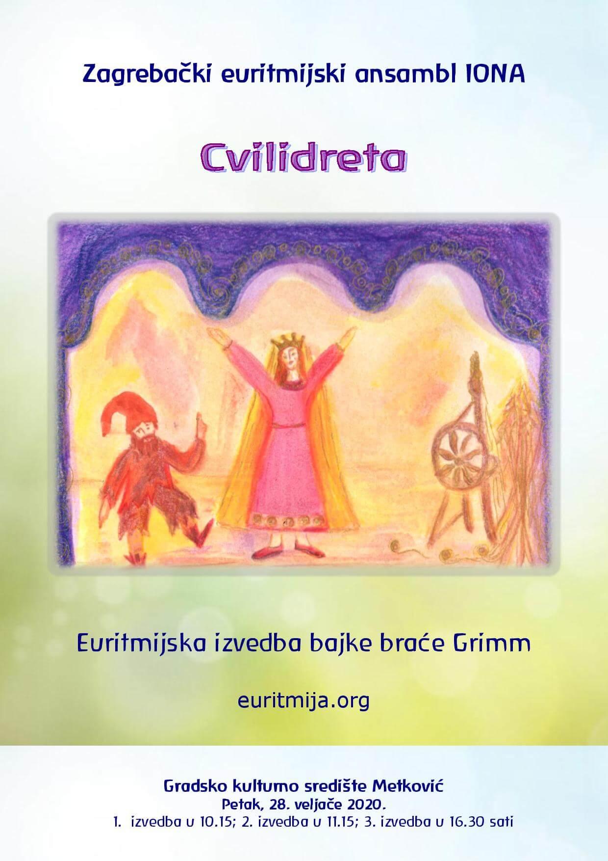 Plakat Cvilidreta, Metkovic