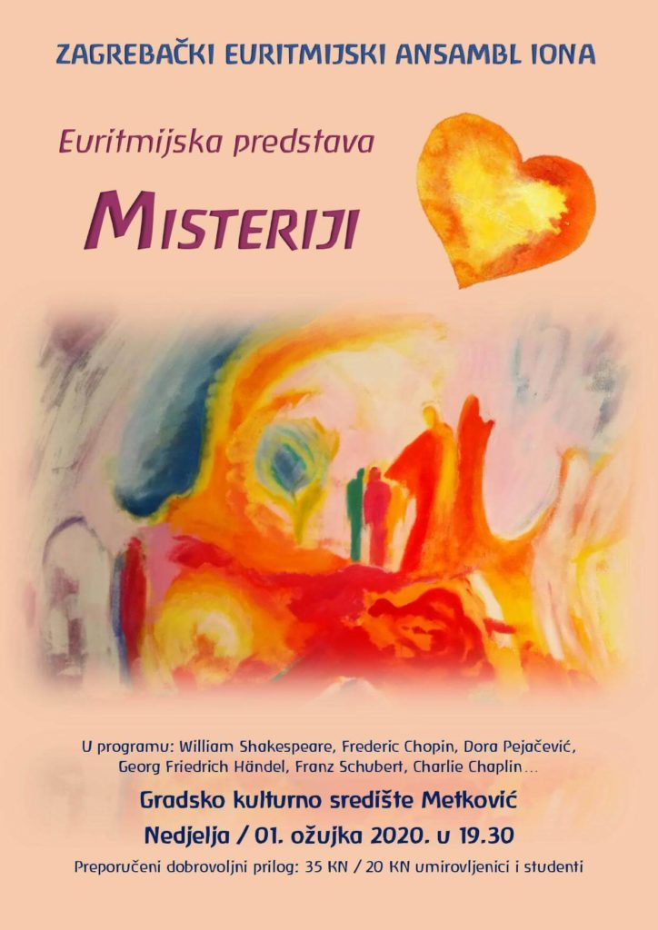 Plakat Misteriji srca